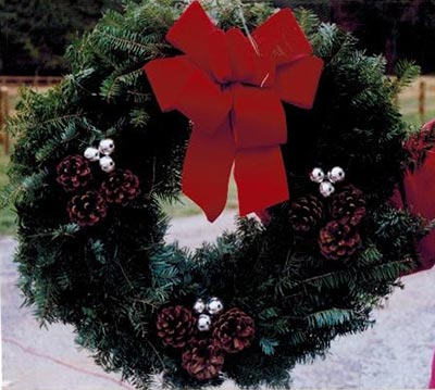 Decorated Wreaths For Your Holiday Fundraiser Flemington Nj